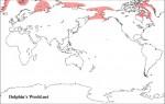 セイウチの地理的分布
