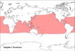 コビレゴンドウの地理的分布